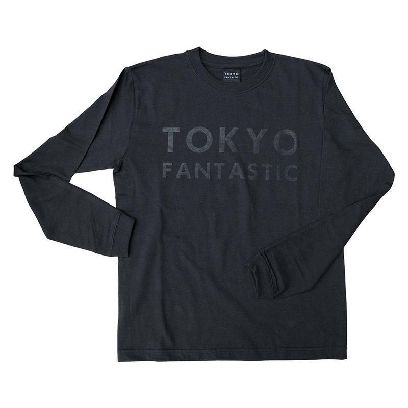 TOKYO FANTASTIC ブランドロゴ ロンT スミクロ(墨黒)