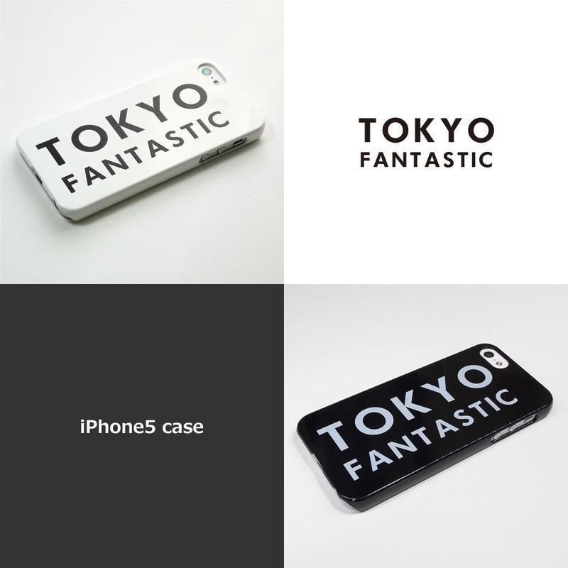 TOKYO FANTASTIC iPhone5/5S ブランドロゴ ケース 白 or 黒