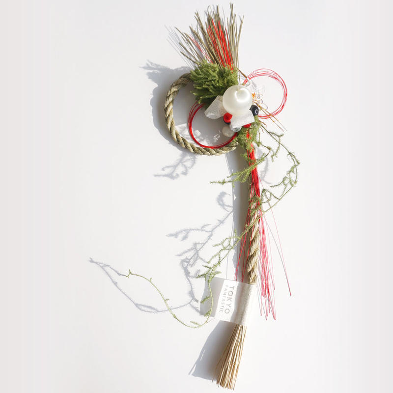 【完売御礼2014】お正月飾り はじまりのむすび 縦(たて) New Year's Wreath (Hanging)
