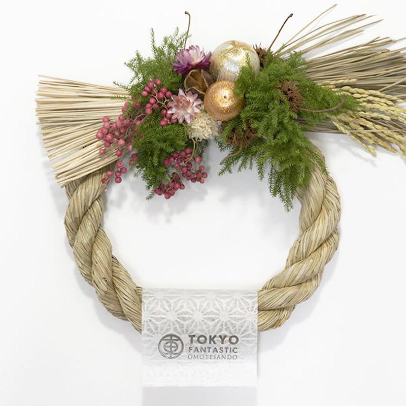 【完売御礼】しめ縄リース 2016 Designed by Tida Flower