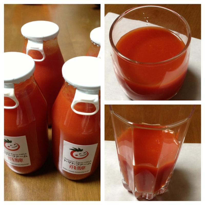 とよくんの自然栽培トマトジュース 家庭用10本セット