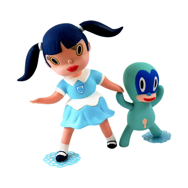 Wild Girls Set: Veronica Blue Edition by Gary Baseman
