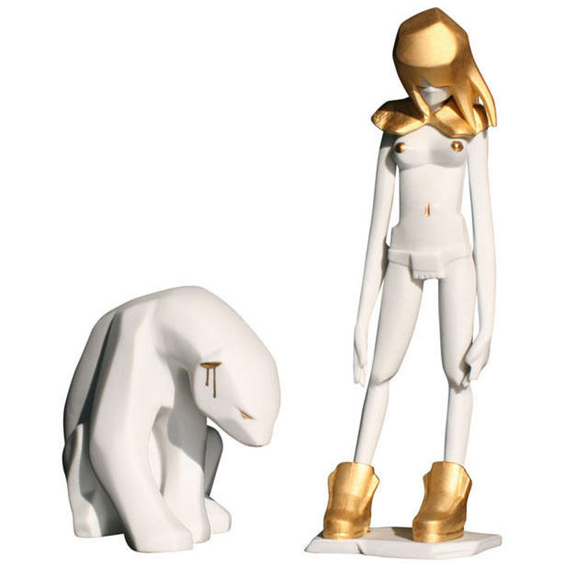 Porcelain Kosplay Gold made in Limoges by Ajee