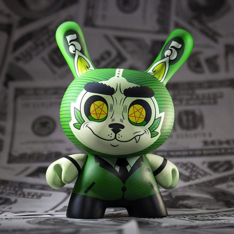 """Cash Wolf 5"""" Dunny by Josh Divine"""