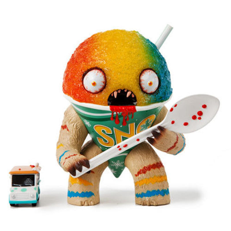 The Abominable Snowcone - Rainbow Edition by Jason Limon