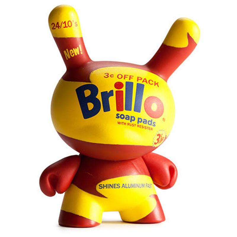 Brillo (yellow) from Warhol Dunny Mini Series