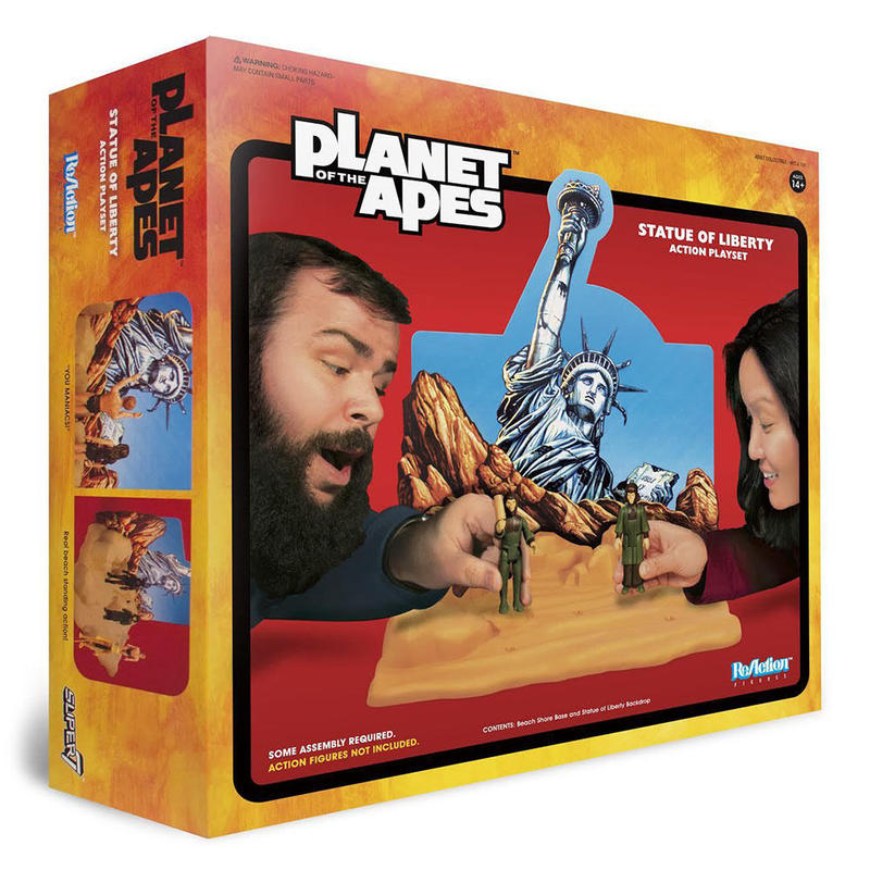 Planet of the Apes - Statue of Liberty Action Playset