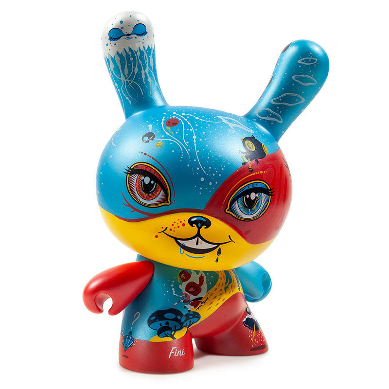 """Good 4 Nothing 8"""" Dunny by 64 Colors"""