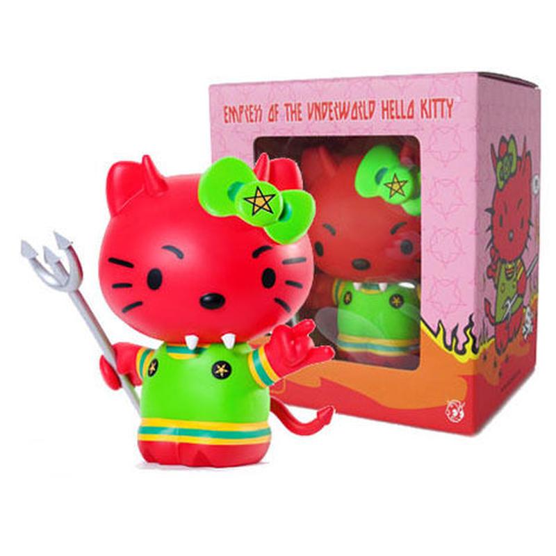 Empress of the Underworld Hello Kitty by Frank Kozik