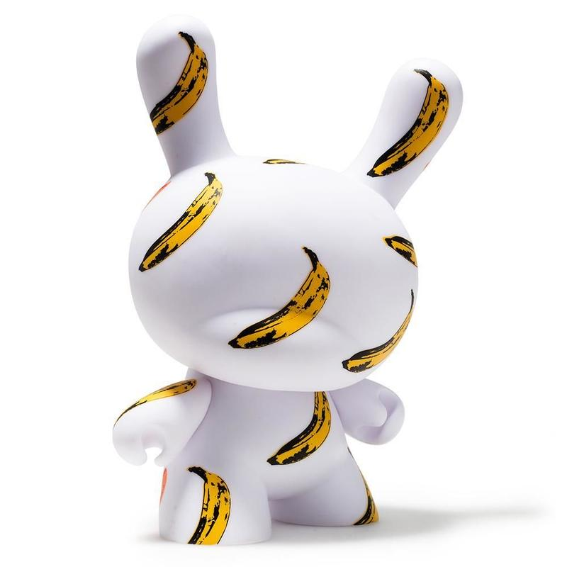 "Warhol 8"" Dunny Masterpiece-Banana"