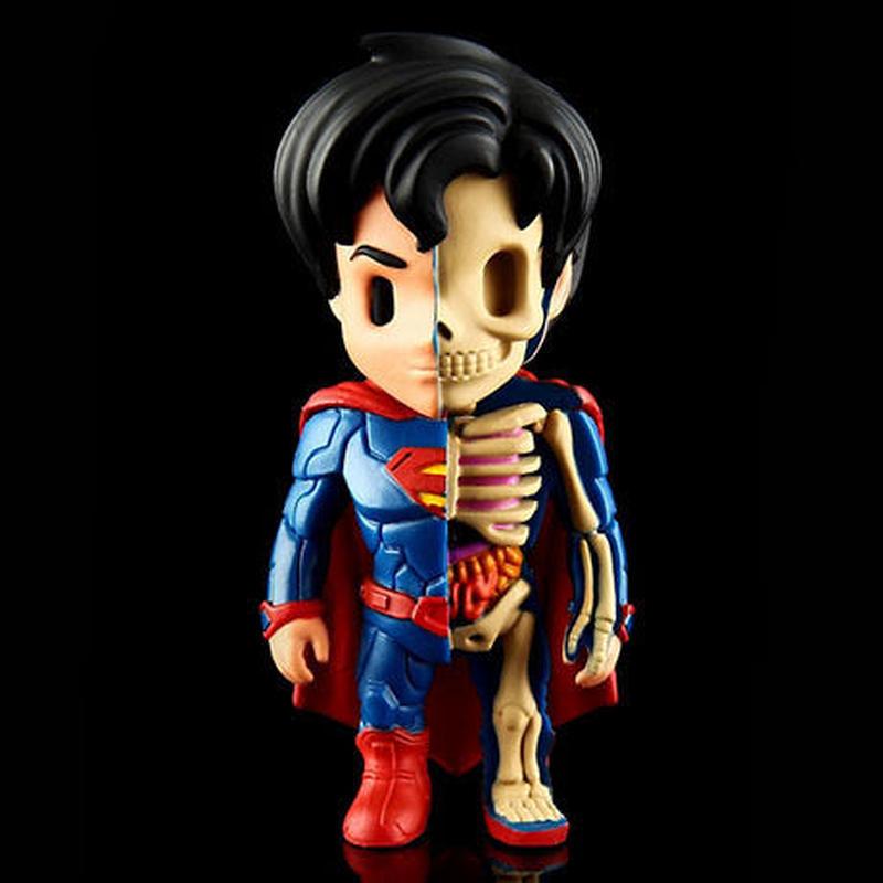 XXRAY - Superman by Jason Freeny