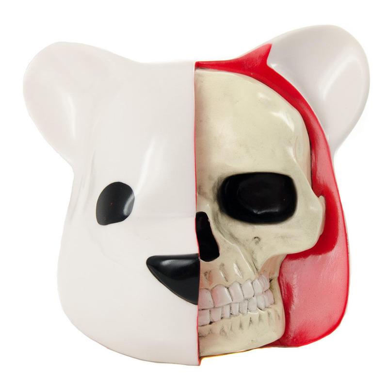 Dissected Bear Head by Luke Chueh