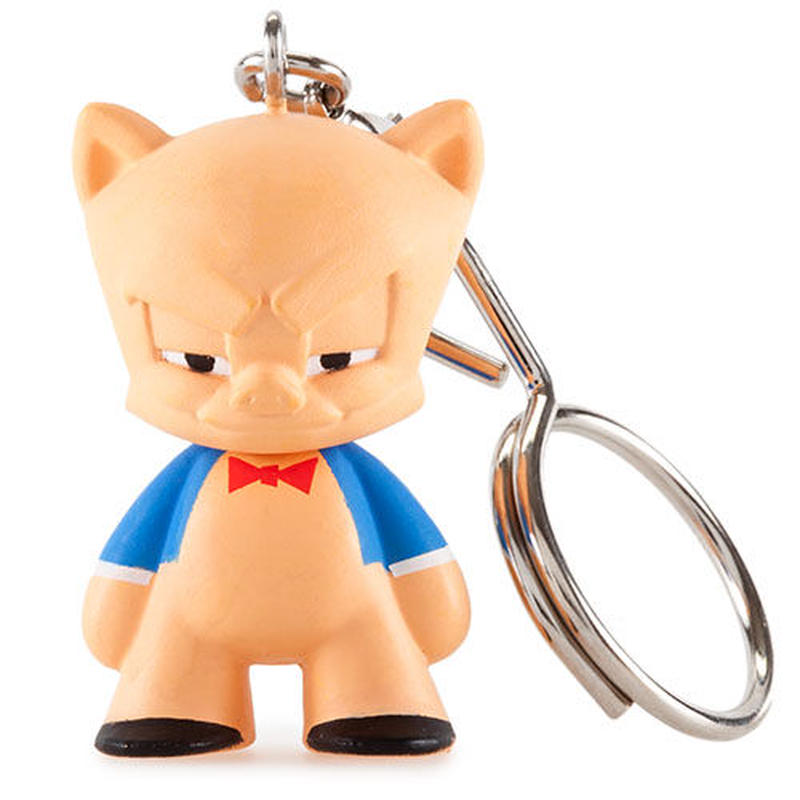 """Porky Pig from Looney Tunes 1.5"""" Keychain Series"""