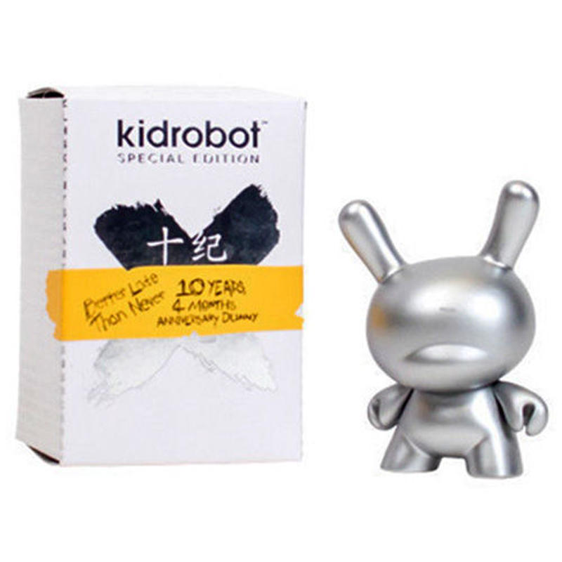 10 Years of the 3-inch Dunny - Silver
