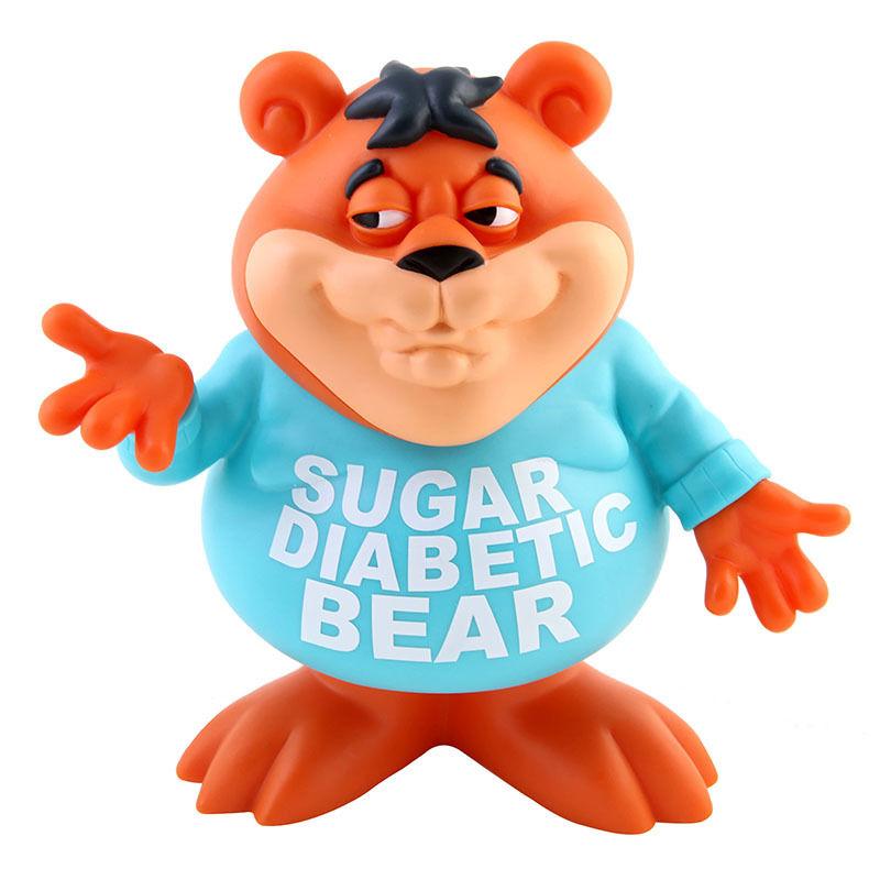 Sugar Diabetic Bear by Ron English