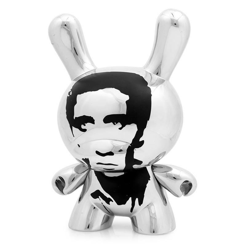 "Warhol 8"" Dunny Masterpiece-Elvis"