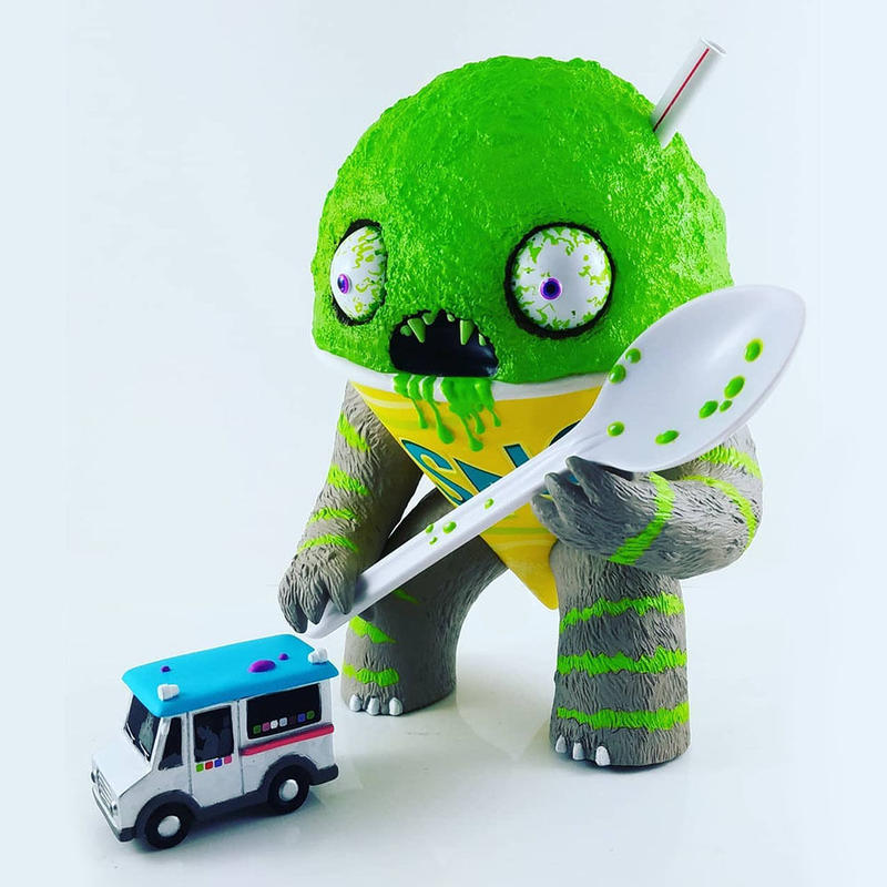 The Abominable Snowcone - Lime Edition by Jason Limon