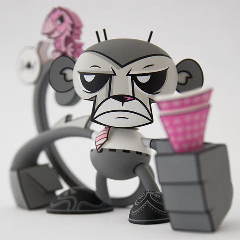 Poker Monkey Minty Fresh Exclusive by Joe Ledbetter