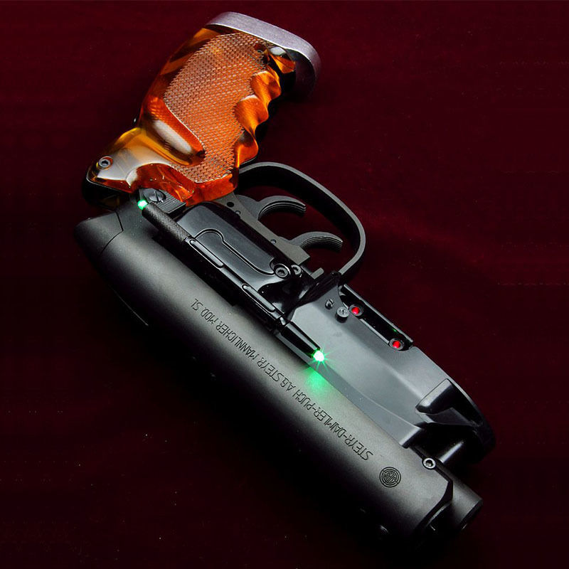Green LED Laser Sight for Tomenosuke Blaster by Kazuhiko Sato