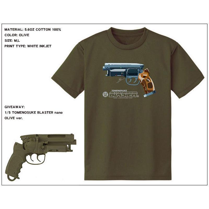 NEW Tomenosuke Blaster T-shirt + nano (olive)