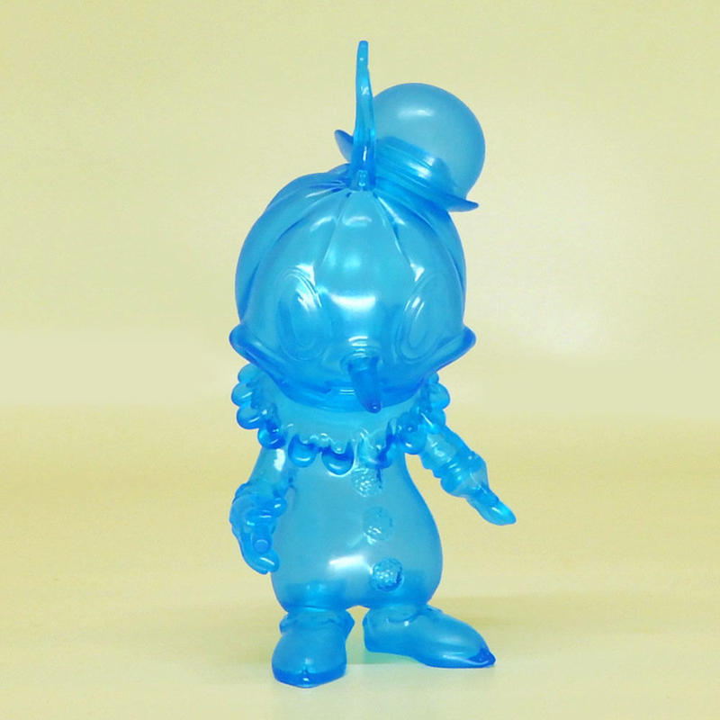 Clear Cyan Stingy Jack by Brandt Peters