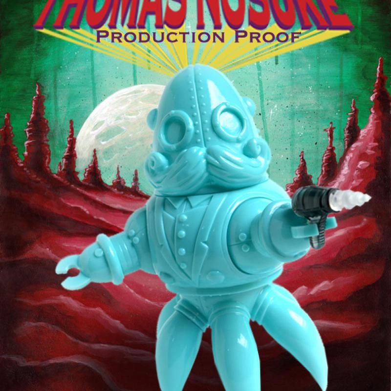 PRODUCTION PROOF: Thomas Nosuke Tiffanyblue Edition by Doktor A