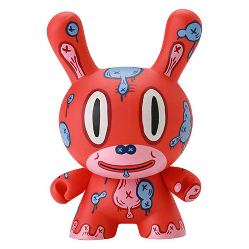 "MOD - Red 8"" Dunny by Gary Baseman"