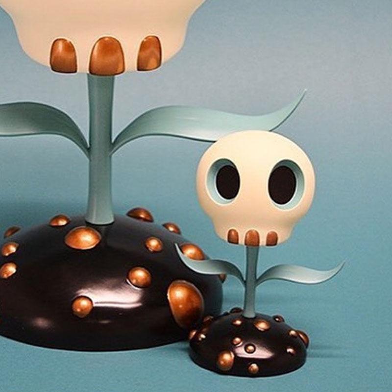 Skull Flower (5-inch) by Tara McPherson