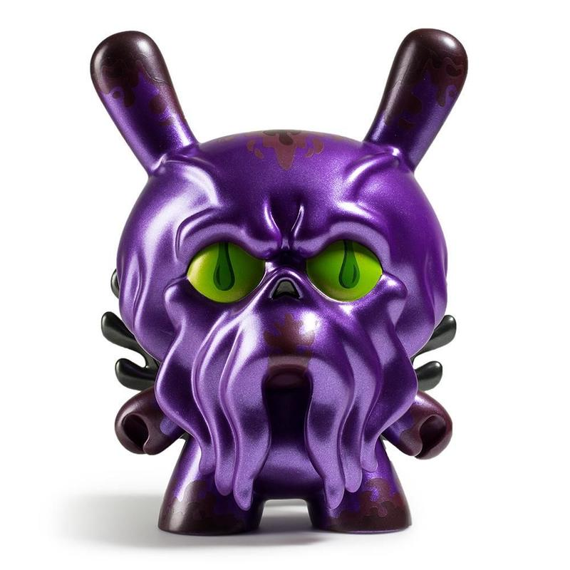 "King Howie 8"" Dunny - Purple by Scot Tolleson"