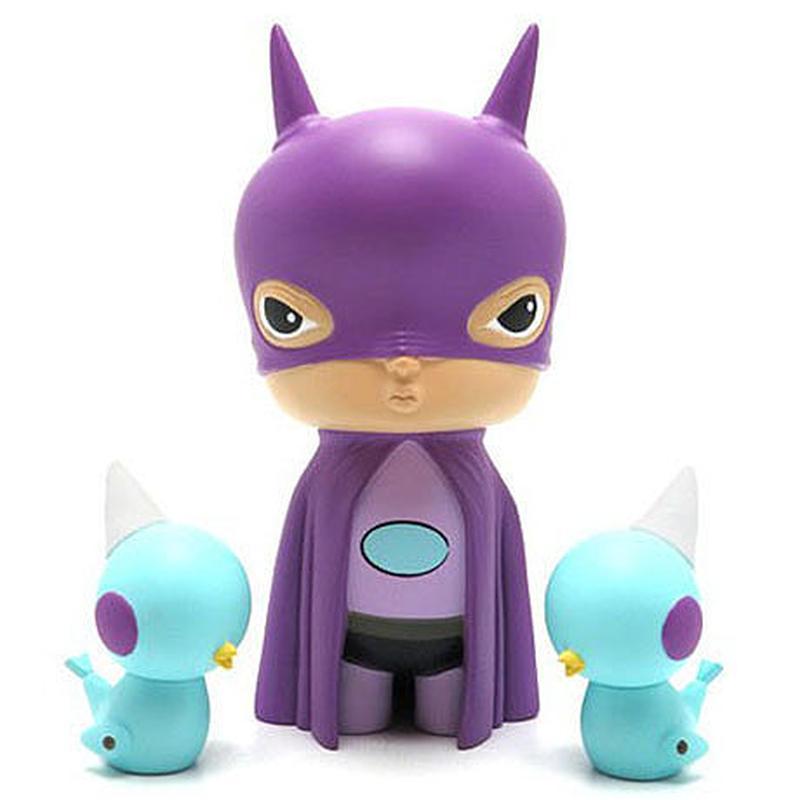 Purple Oliver The Bat Boy by Kathie Olivas