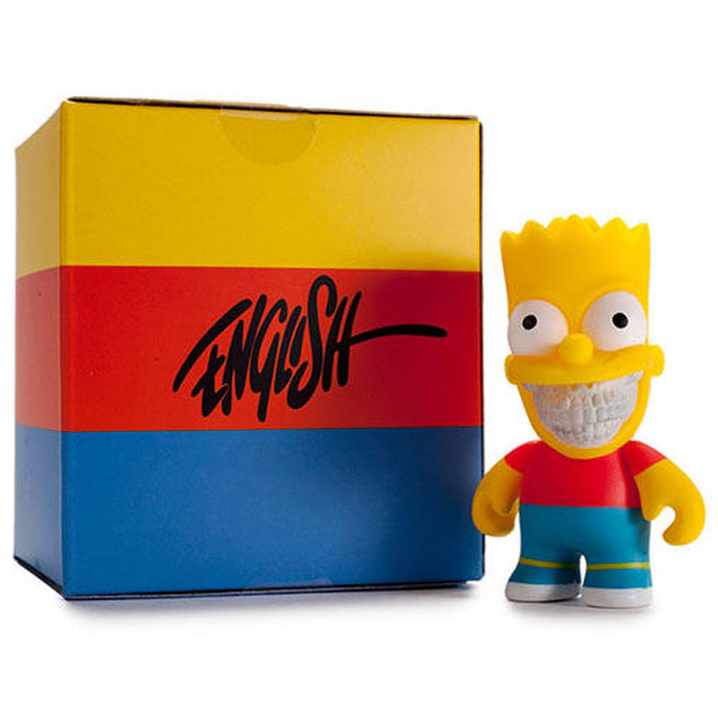 "The Simpsons- 3"" Grin Bart by Ron English"