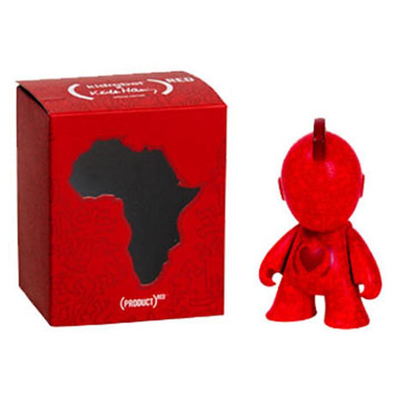 Kidrobot x (RED) x Keith Haring Mini Figure Art Toy 3-Inch