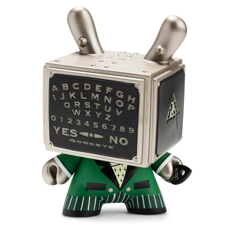 "Talking Board Green GID 5"" Dunny by Doktor A (AP)"