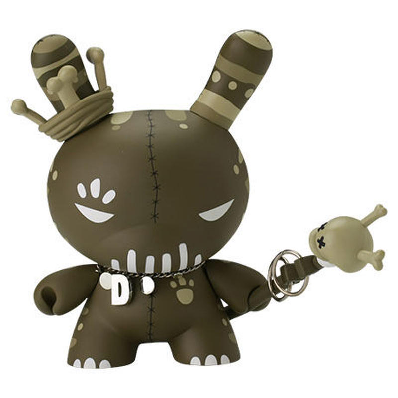 """Voodoo Swamp 8"""" Dunny by Tristan Eaton"""