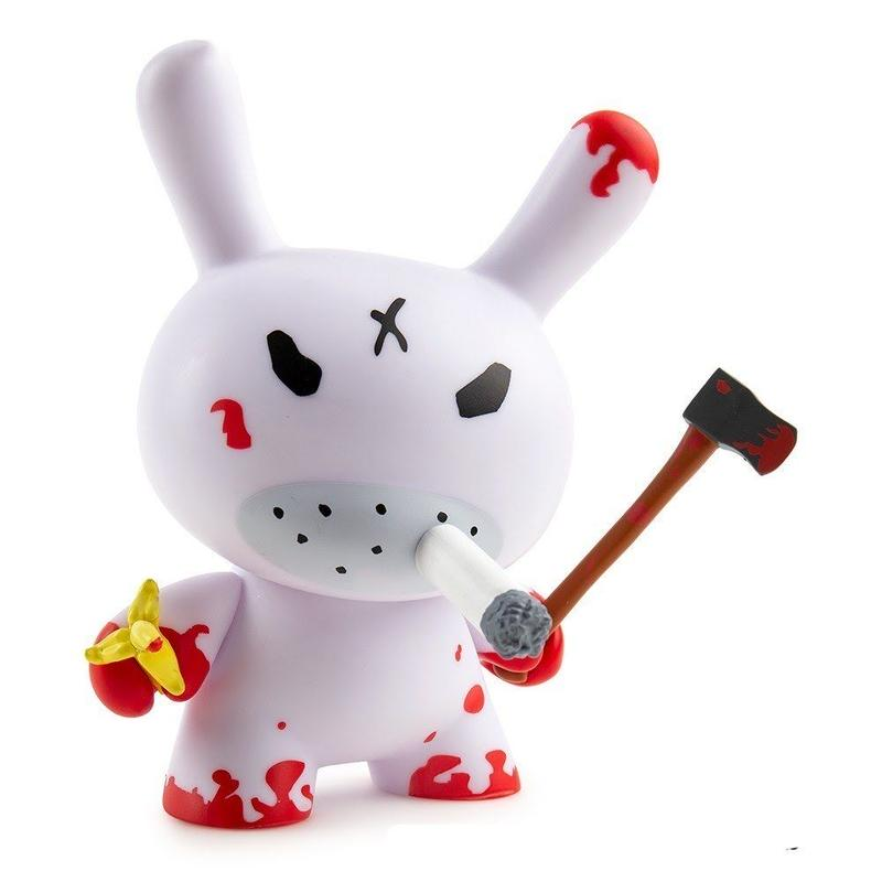 """Redrum 5"""" Dunny by Frank Kozik"""