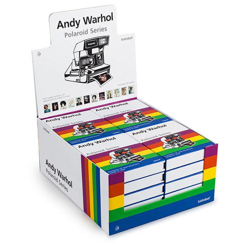 Andy Warhol Polaroid Print Set