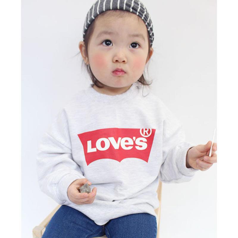 (即納☆)新作 LOVE.Sホワイトスウェット