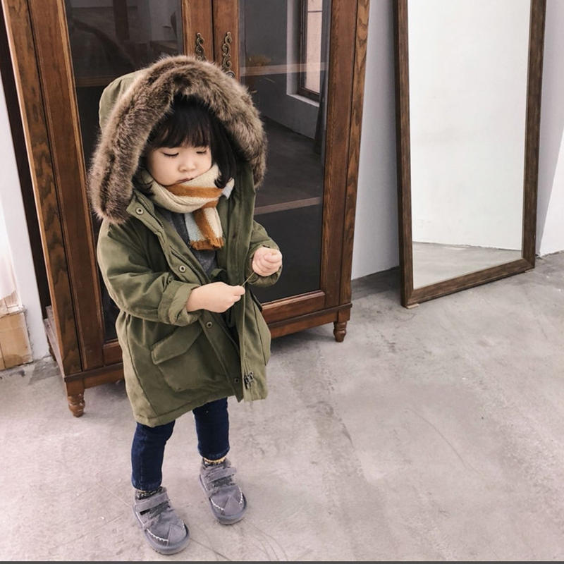 (即納♡)(kids☆)リアルファーミリタリーコート