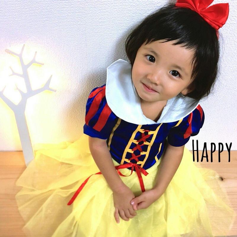 (即納♡)(kids☆白雪姫 ドレスカチャーシャ付☆