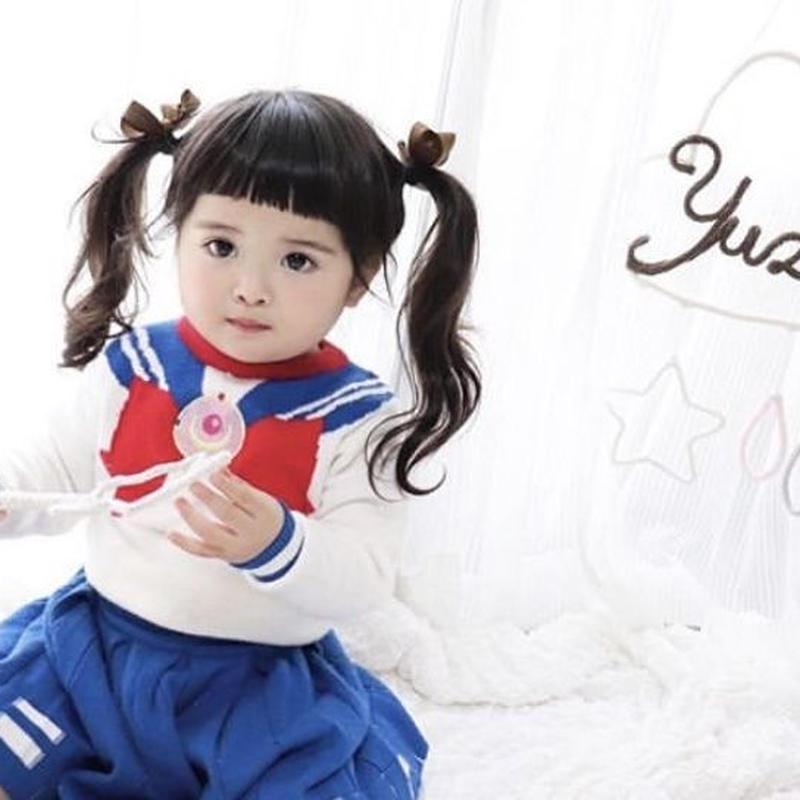 (即納♡)(kidSセーラームーンセーター&スカート2点SET