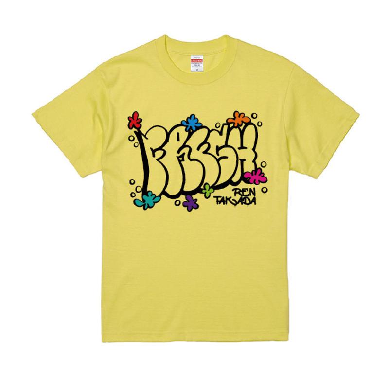 高田漣 FRESH Tシャツ(ライトイエロー)