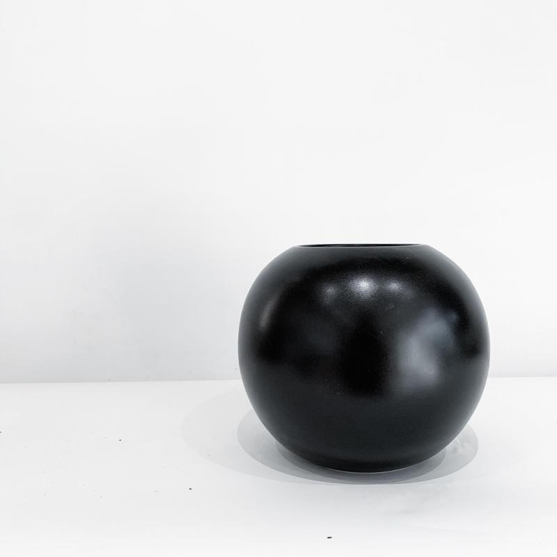 花器 black ball vase S