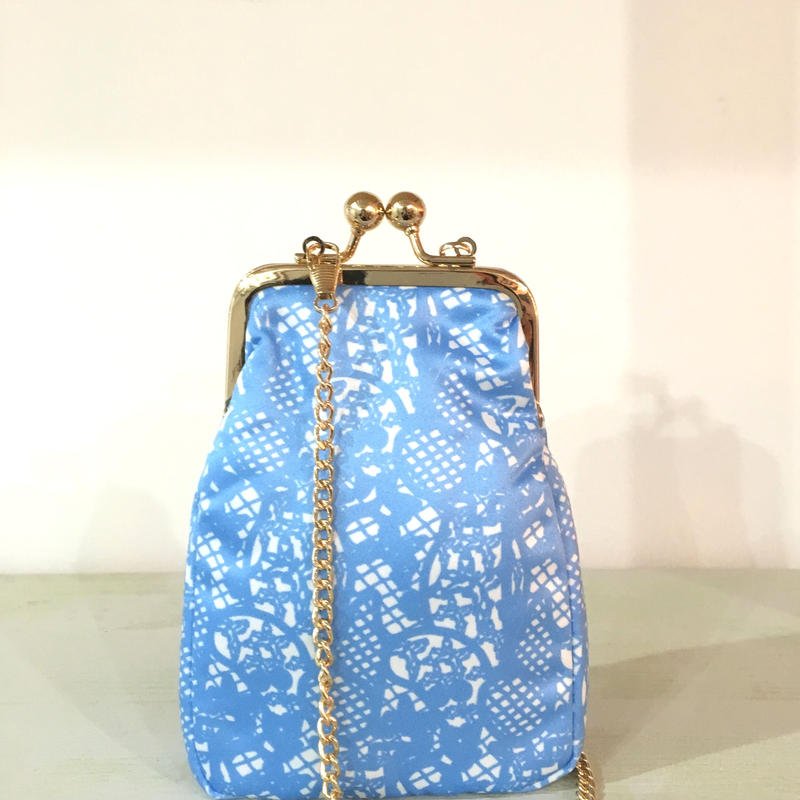 ¥4,500→¥999 MOOMIN Printed Lace Blue S