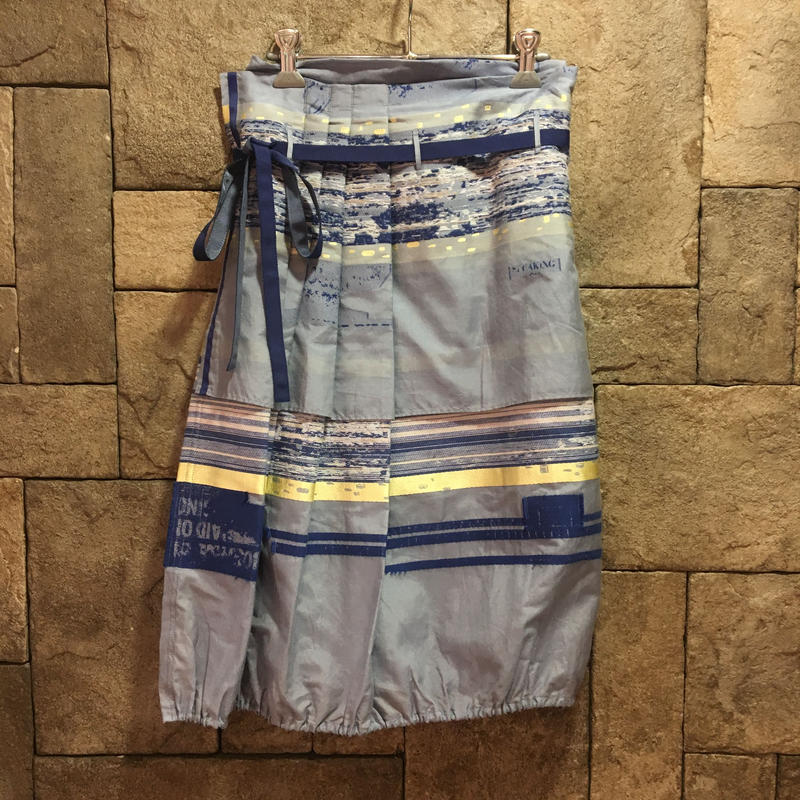 SPOLOGUM3-161-14/ラップスカートブルー  のコピー