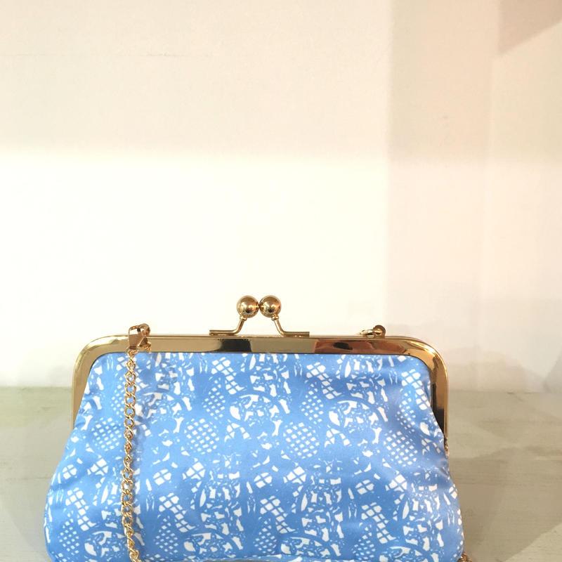 ¥5,000→¥1,999 MOOMIN Printed Lace Blue MP