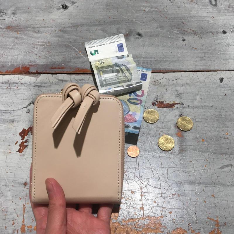 BRADARICOHMAE二つ折り財布/ベージュ