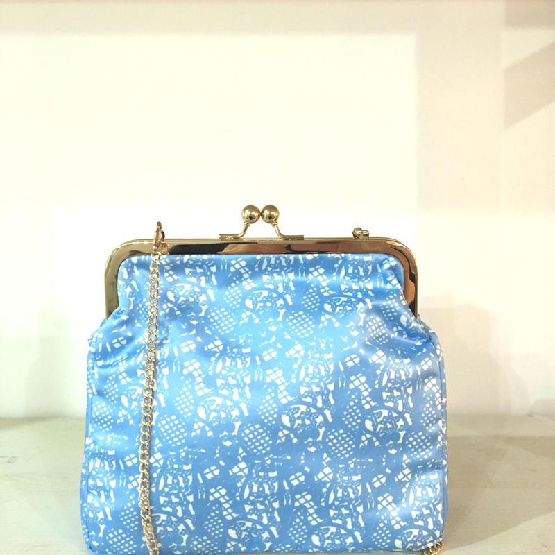 ¥5,300→¥2,999 MOOMIN Printed Lace Blue L