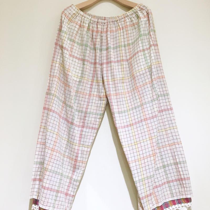 injiriコットンパンツ/38サイズ(M)