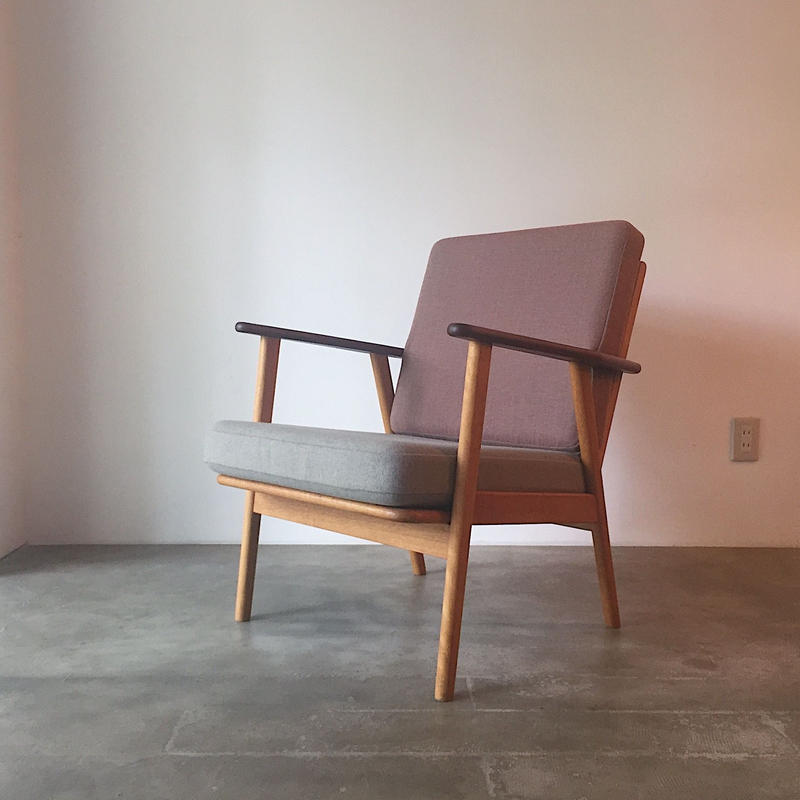 Teak×Oak Easy Chair