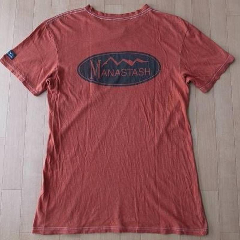 MANASTASH Tシャツ ヘンプ hemp マナスタッシュ サイズL オーガニック【deg】